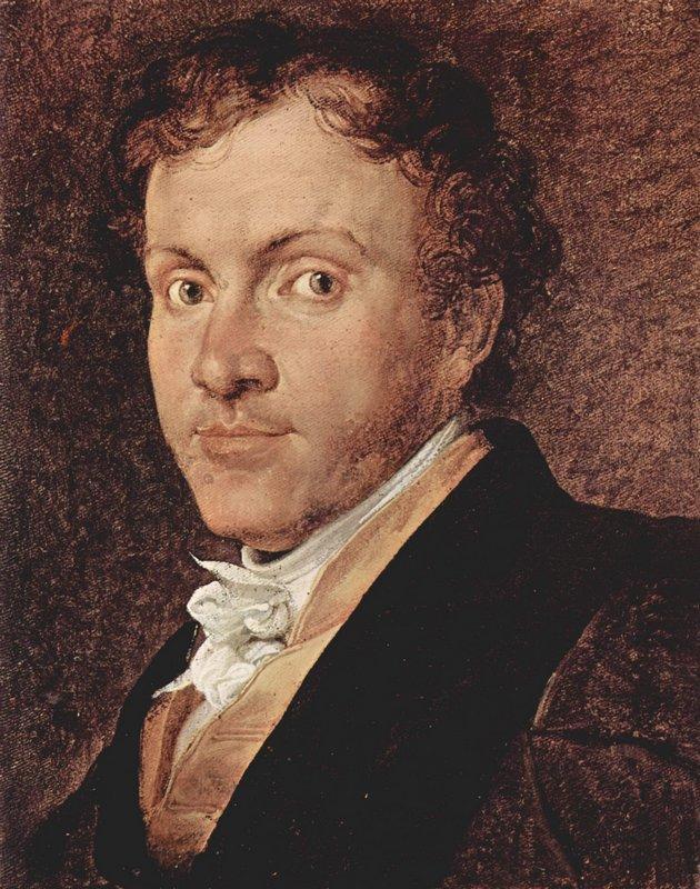 Portrait of Giuseppe Roberti - Francesco Hayez
