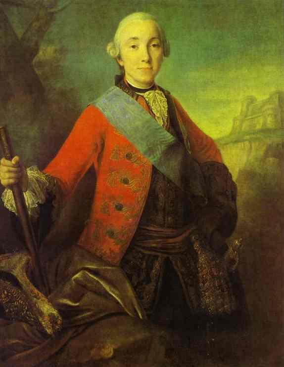 Portrait of Great Duke Peter Fedorovich, Later Emperor Peter III - Fyodor Rokotov
