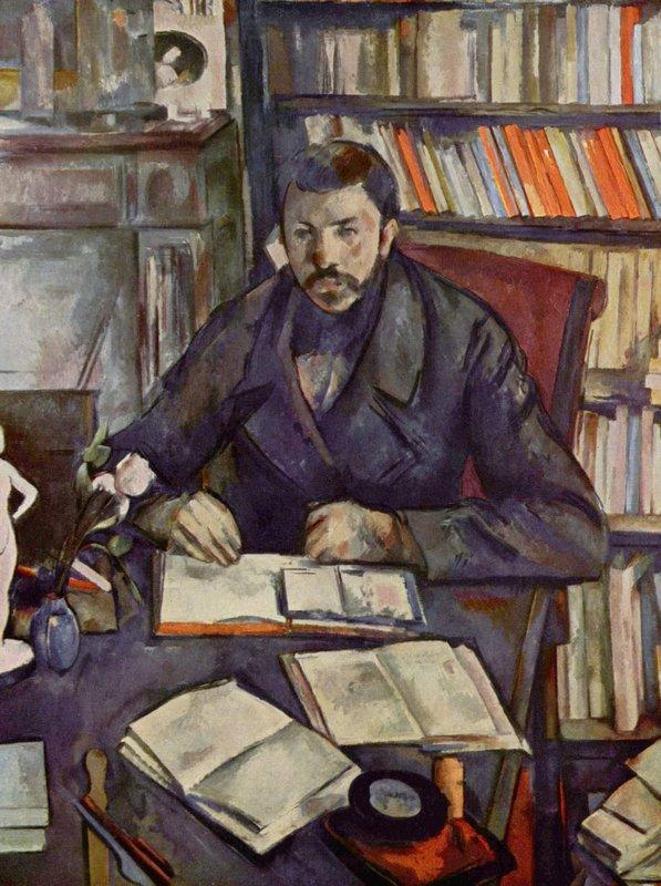 Portrait of Gustave Geffroy - Paul Cezanne