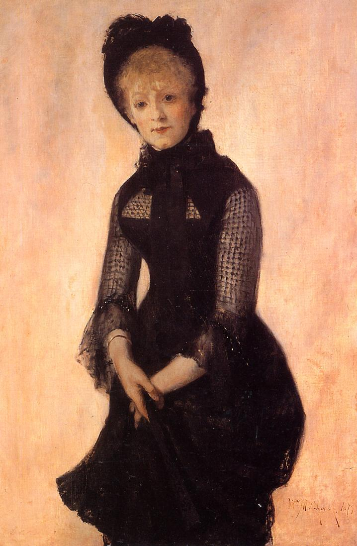 Portrait of Harriet Hubbard Ayer - William Merritt Chase