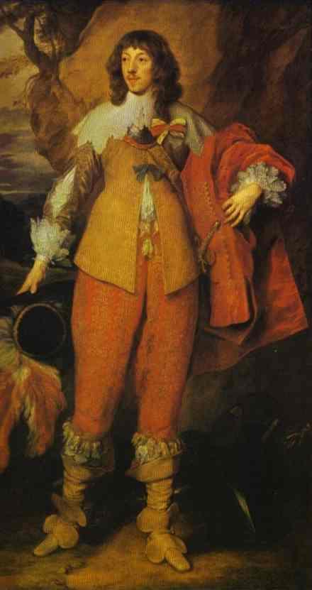 Portrait of Henri II de Lorraine, Duc de Guise - Anthony van Dyck