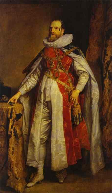 Portrait of Henry Danvers, Earl of Danby, as a Knight of the Order of the Garter - Anthony van Dyck