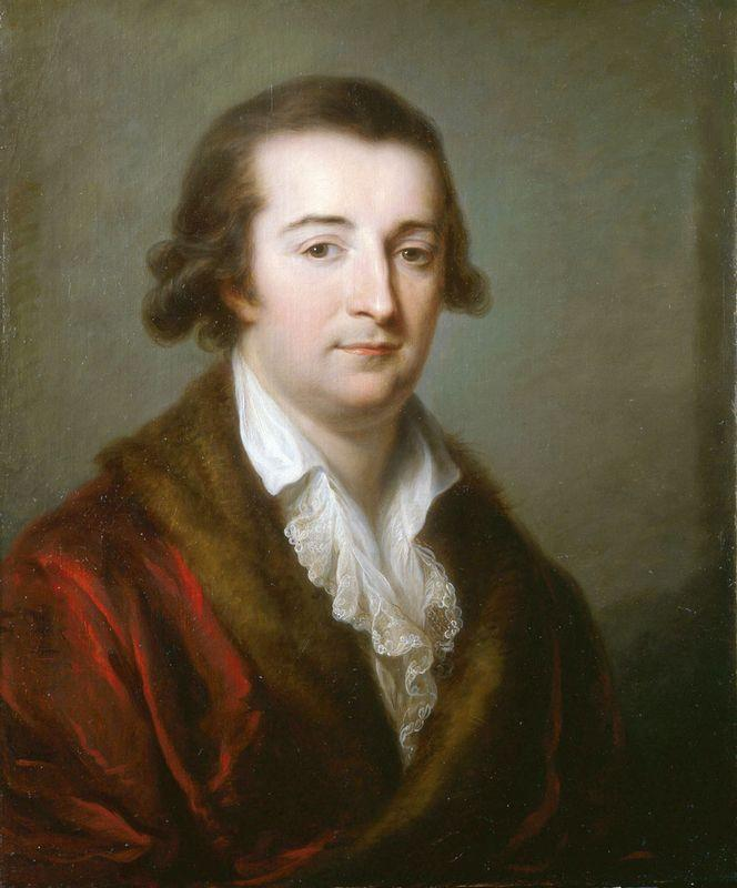 Portrait of Herzogs von Ceri - Angelica Kauffman