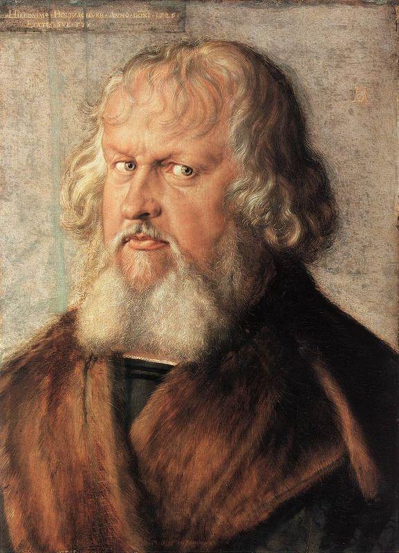 Portrait of Hieronymus Holzschuher - Albrecht Durer