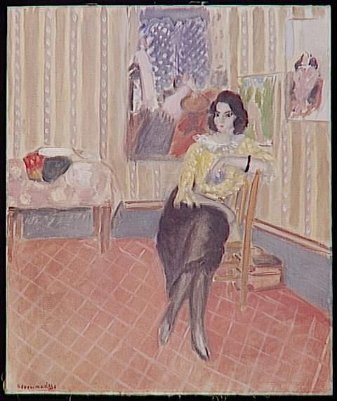Portrait of his daughter Margaret - Henri Matisse