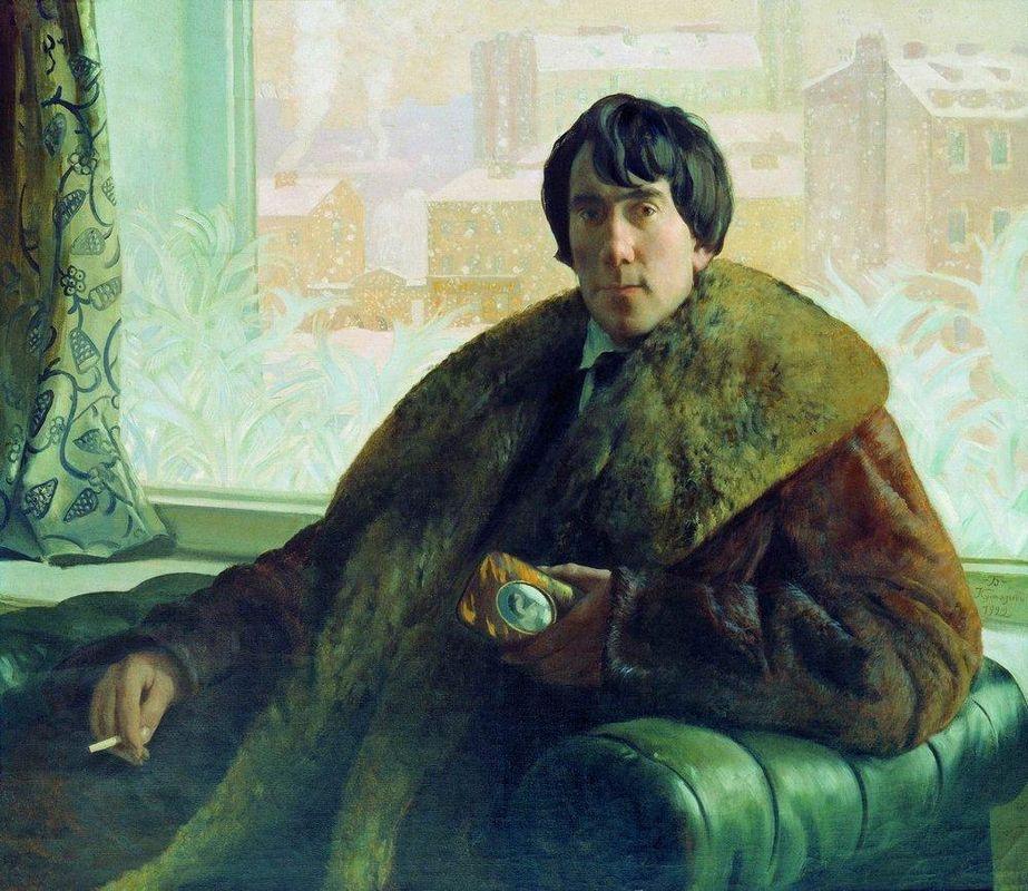 Portrait of I. Zolotarevsky - Boris Kustodiev