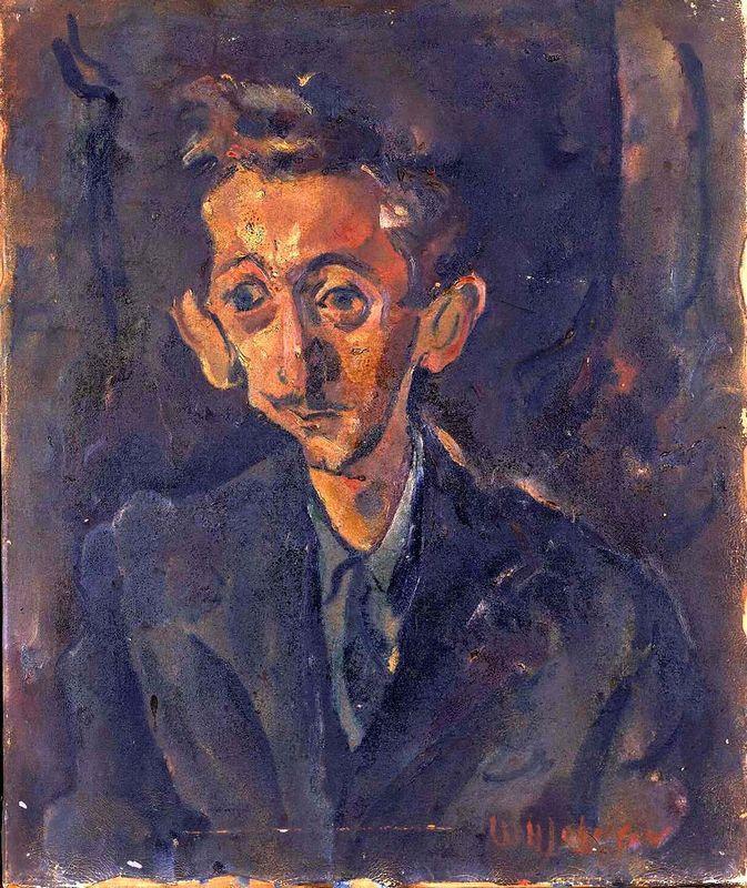 Portrait of Ilya Bolotowsky - William H. Johnson