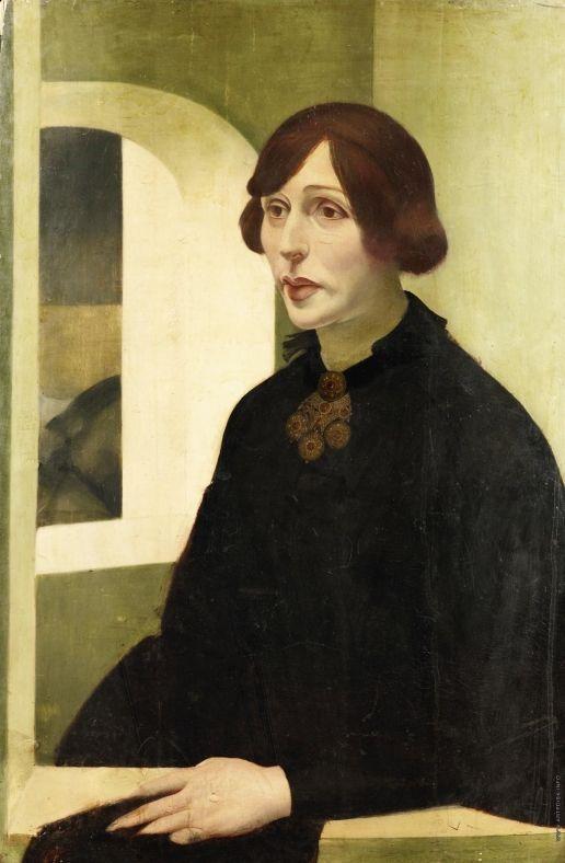 Portrait of Iren fon Radlov - Alexandre Jacovleff