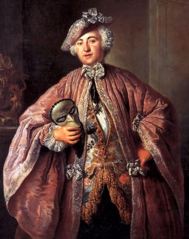 Portrait of Isaak Franz Egmont von Chasot - Antoine Pesne