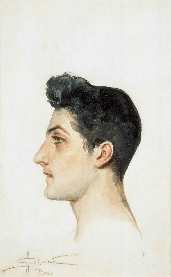 Portrait of italian young man  - Sergey Solomko