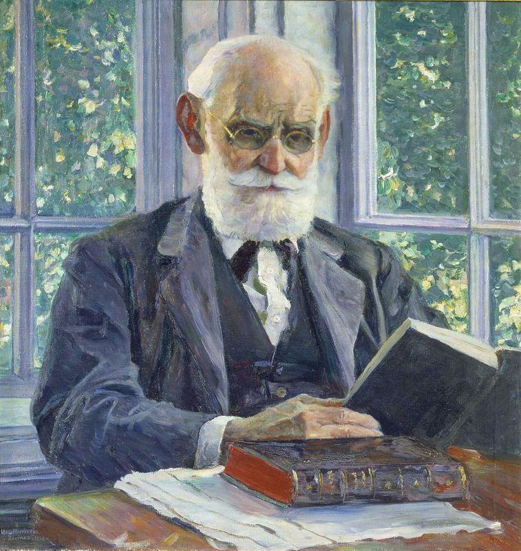 Portrait of Ivan Pavlov - Mikhail Nesterov
