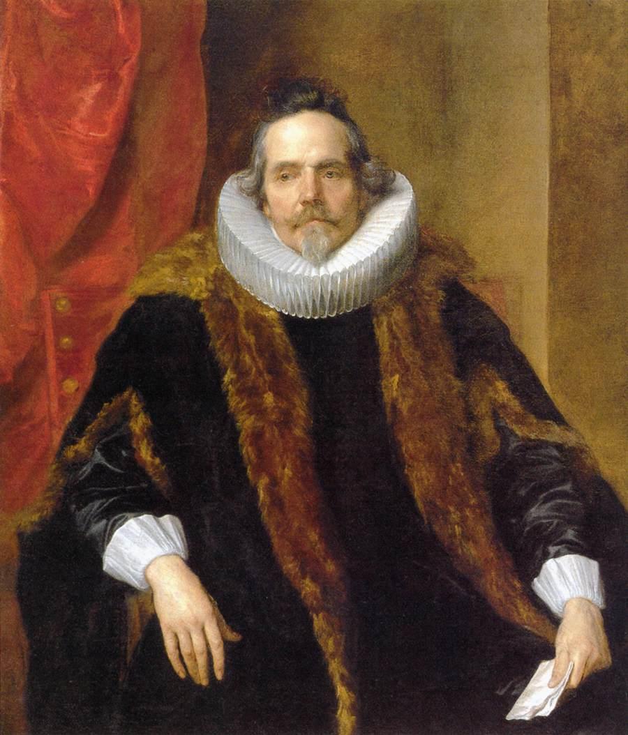 Portrait of Jacques Le Roy - Anthony van Dyck