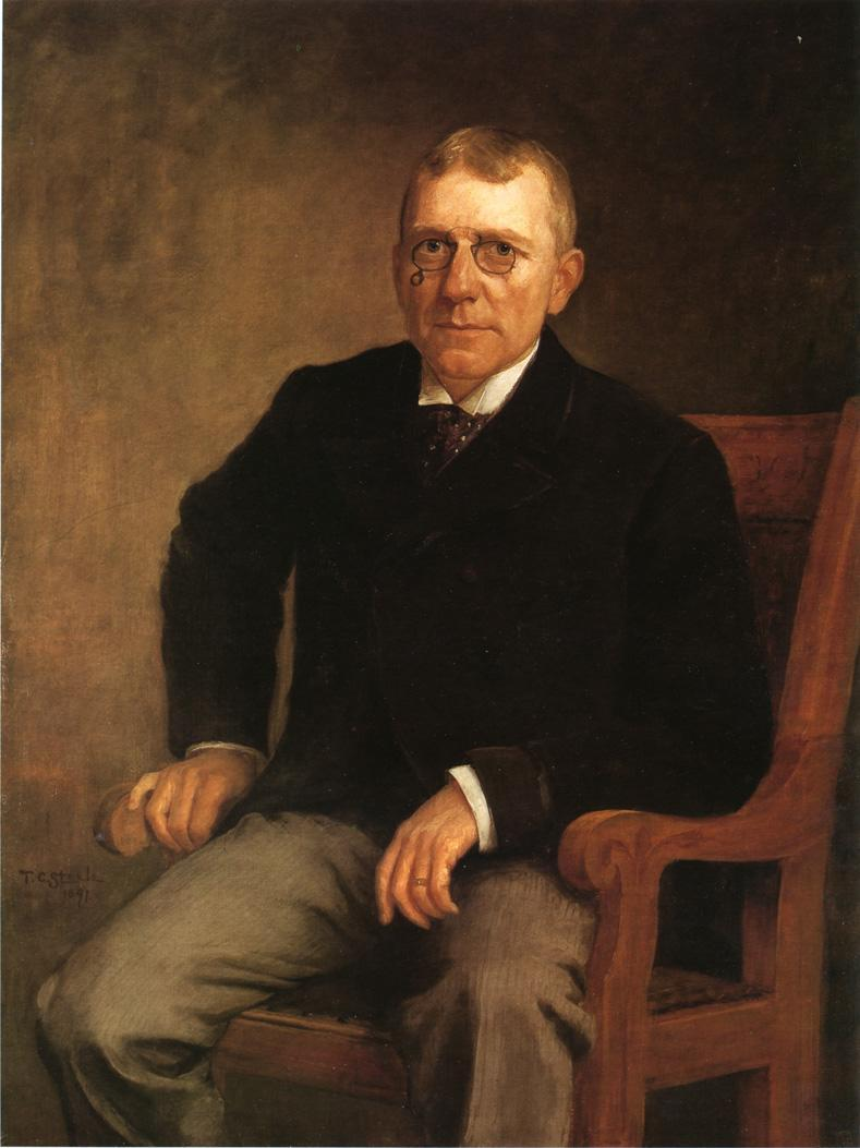 Portrait of James Whitcomb Riley - T. C. Steele