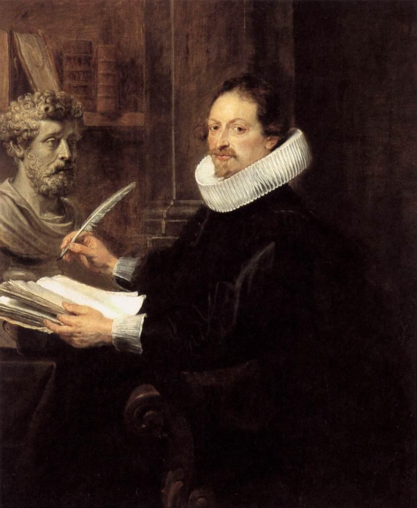 Portrait of Jan Gaspar Gevartius - Peter Paul Rubens