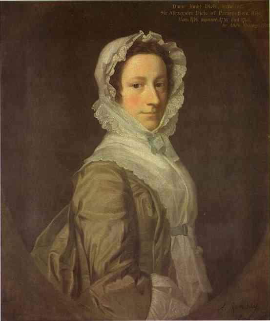 Portrait of Janet Dick - Allan Ramsay