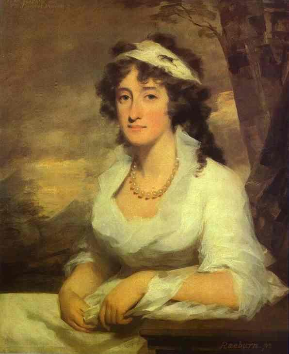 Portrait of Janet Dundas - Henry Raeburn