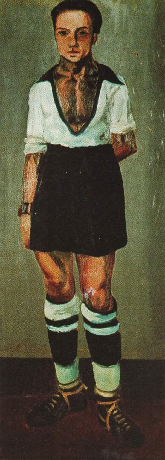 Portrait of Jaume Miravidles as a Footballer - Salvador Dali