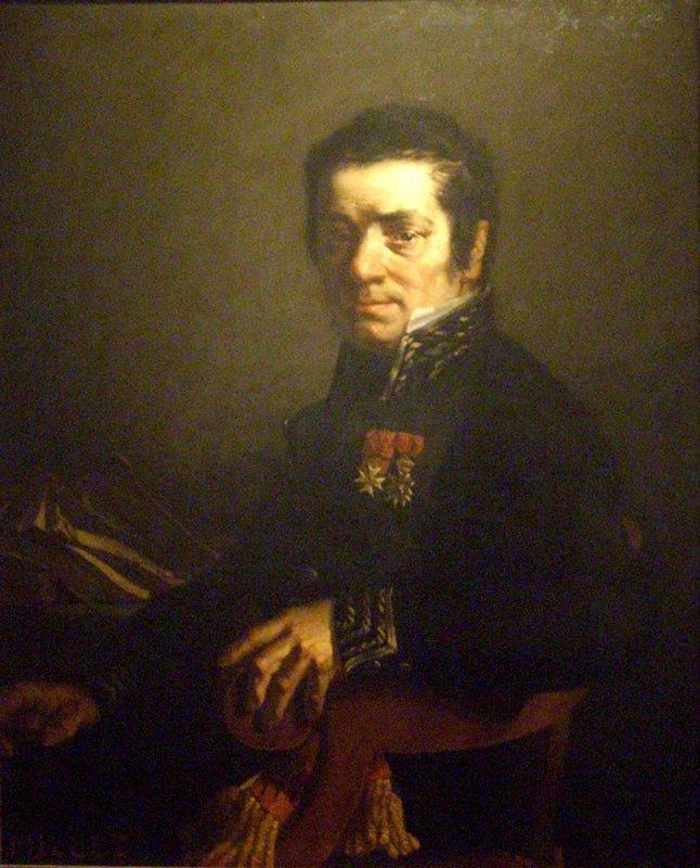 Portrait of Javain (Mayor of Cherbourg) - Jean-Francois Millet
