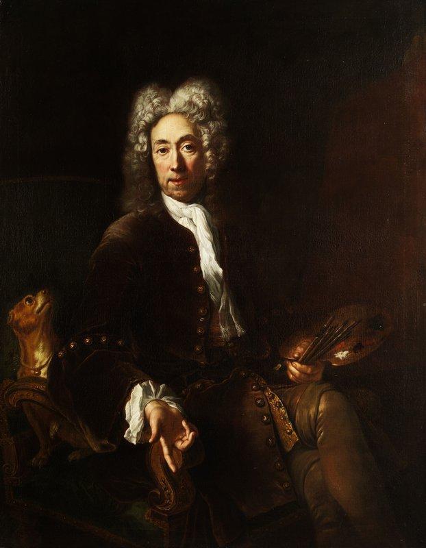Portrait of Jean Baptiste Gayot Dubuisson - Antoine Pesne