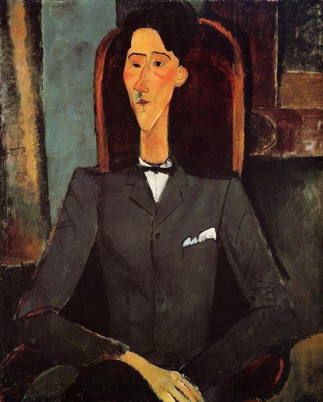 Portrait of Jean Cocteau - Amedeo Modigliani