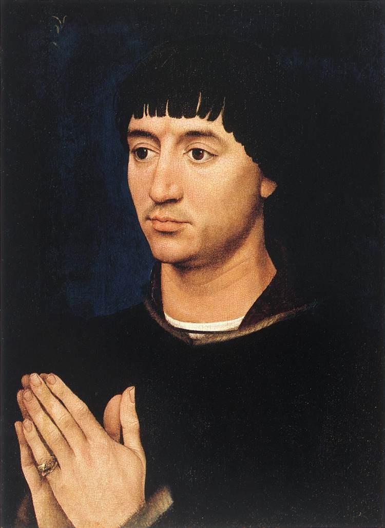 Portrait of Jean de Gros - Rogier van der Weyden