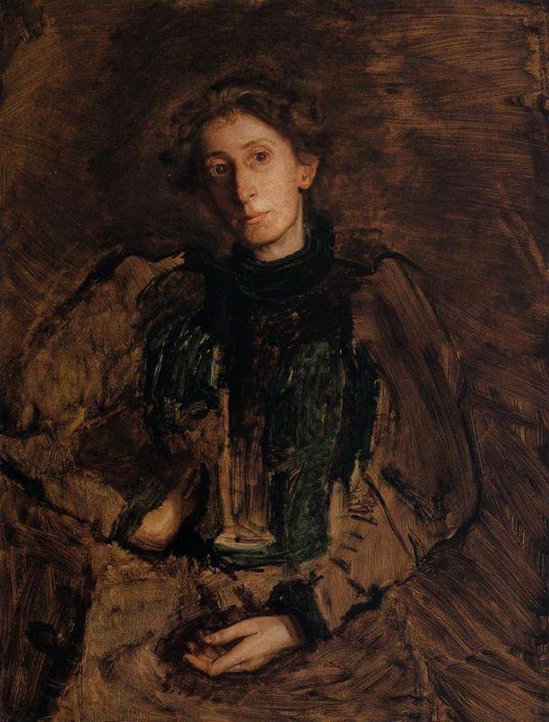 Portrait of Jennie Dean Kershaw - Thomas Eakins