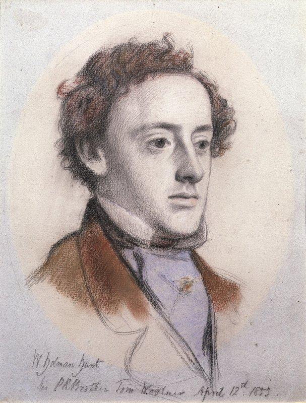 Portrait of John Everett Millais - William Holman Hunt