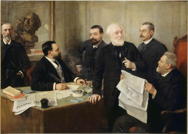 Portrait of Jules Roc - Henri Rousseau