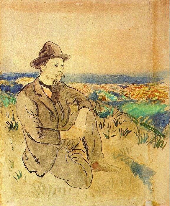 Portrait of Juli Gonzalez - Pablo Picasso