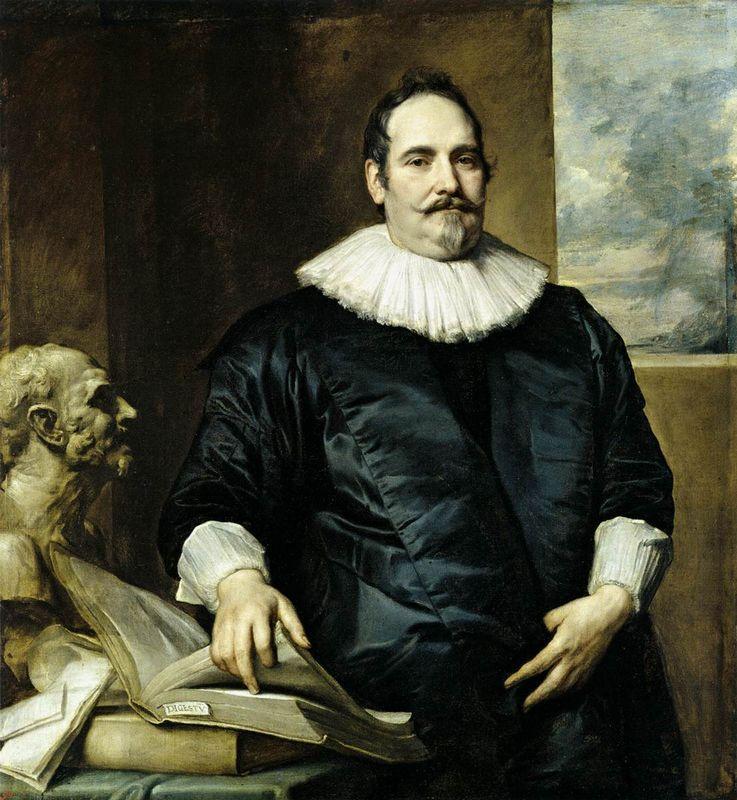 Portrait of Justus van Meerstraeten - Anthony van Dyck