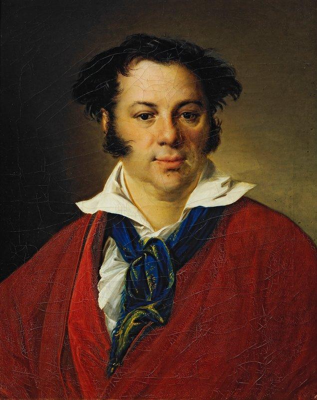 Portrait of K.G.Ravich - Vasily Tropinin