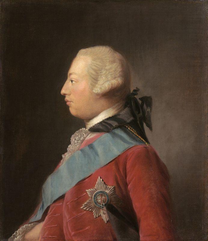 Portrait of King George III  - Allan Ramsay