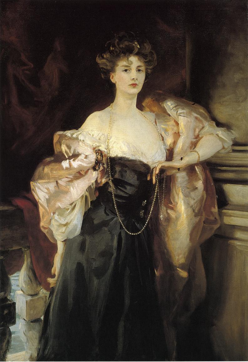 Portrait of Lady Helen Vincent, Viscountess D'Abernon - John Singer Sargent