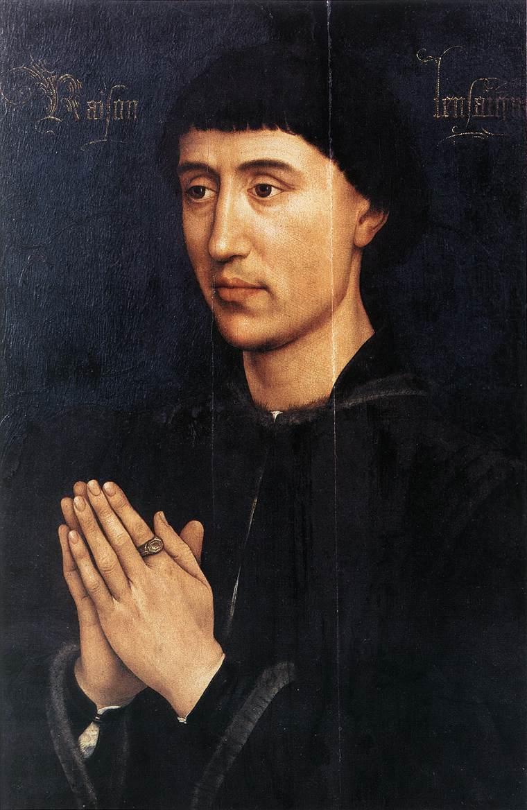 Portrait of Laurent Froimont - Rogier van der Weyden