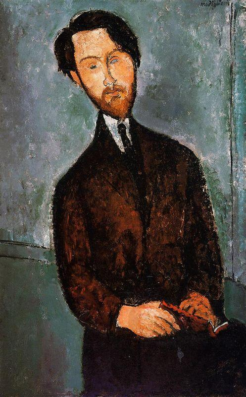 Portrait of Leopold Zborowski - Amedeo Modigliani