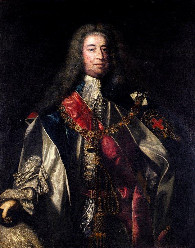 Portrait of Lionel Sackville, 1st Duke of Dorset - Joshua Reynolds