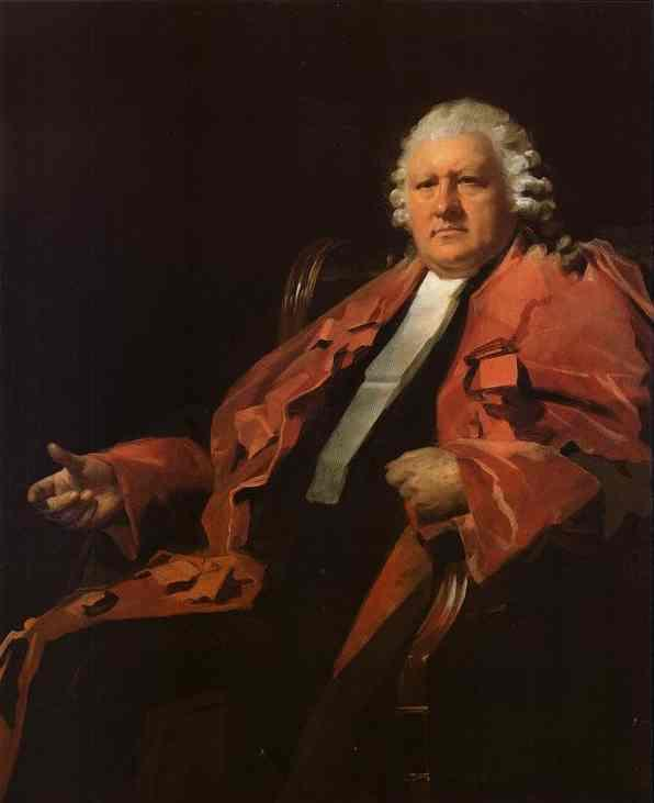 Portrait of Lord Newton - Henry Raeburn