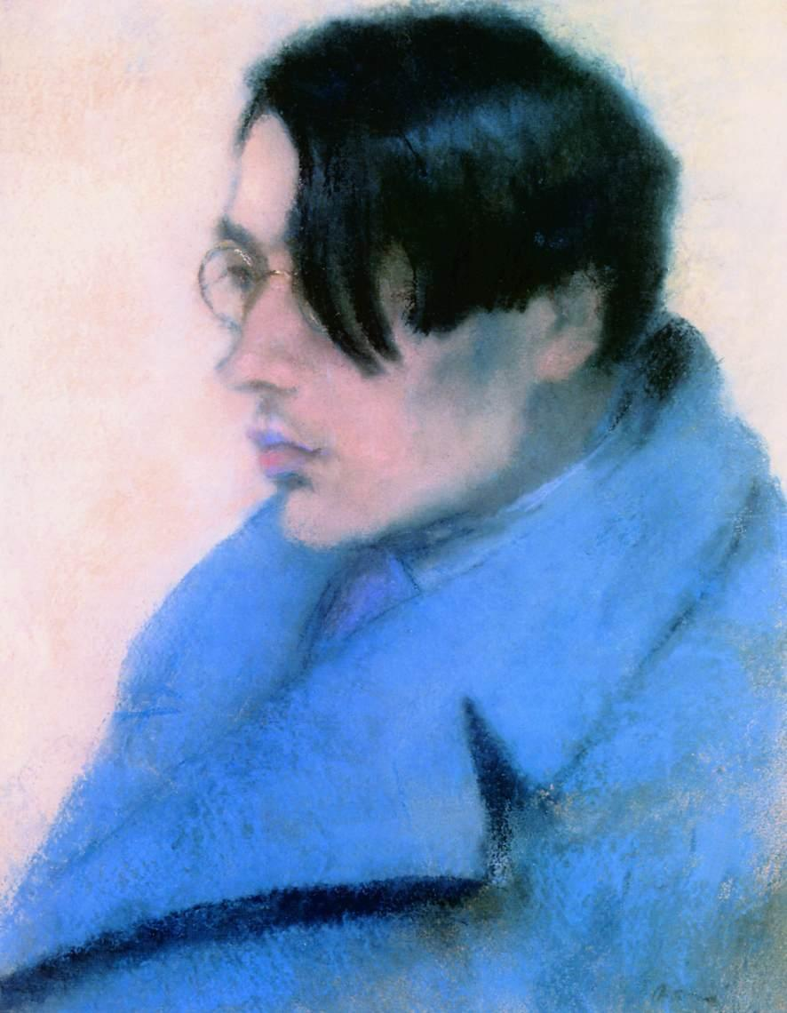 Portrait of Lorinc Szabo - Jozsef Rippl-Ronai