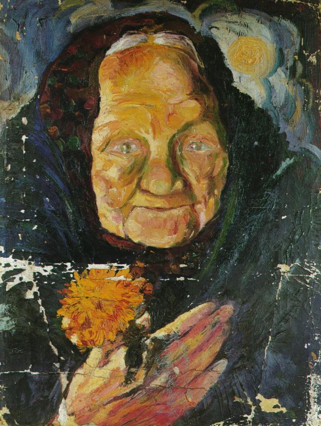 Portrait of Lucia - Salvador Dali