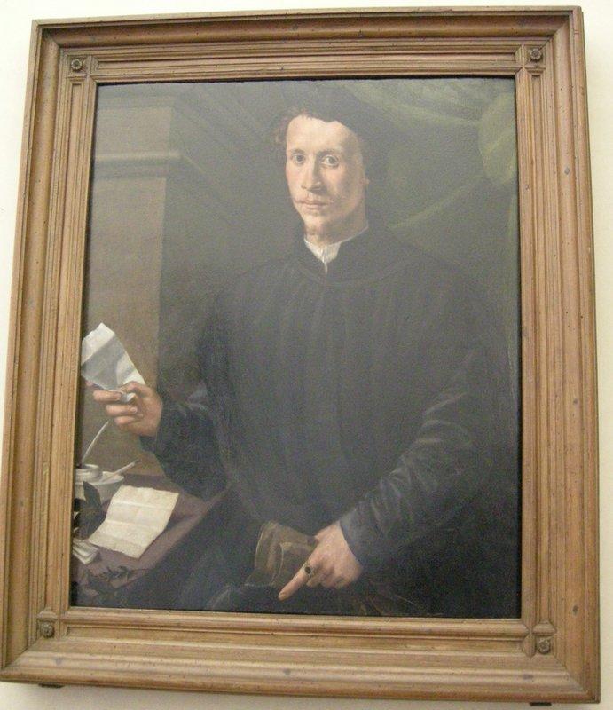 Portrait of Ludovico Martelli - Jacopo Pontormo