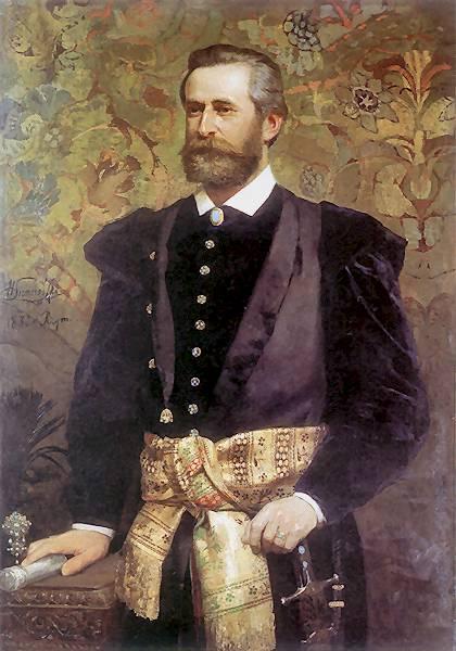 Portrait of Ludwik Wodzicki - Henryk Siemiradzki