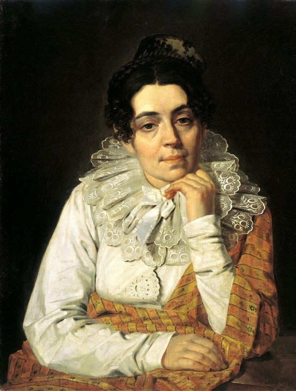 Portrait of M. A. Venetsianova - Alexey Venetsianov