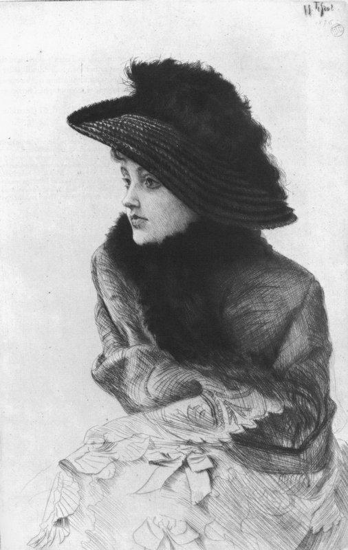 Portrait of M. N. - James Tissot