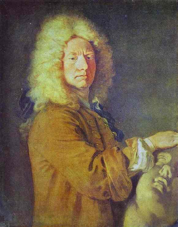 Portrait of M Pater - Antoine Watteau