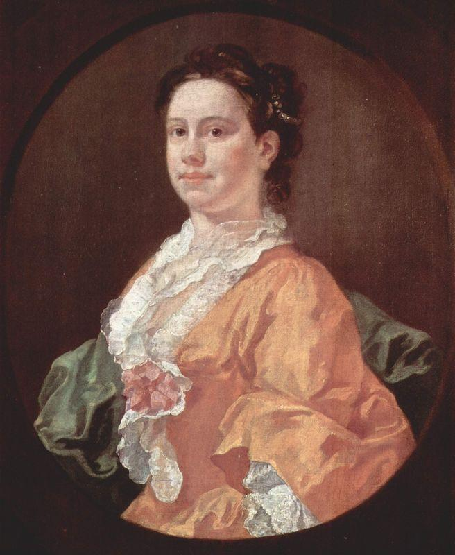 Portrait of Madam Salter - William Hogarth