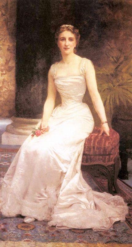 Portrait of Madame Olry Roederer - William-Adolphe Bouguereau