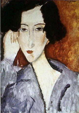 Portrait of Madame Rachele Osterlind - Amedeo Modigliani