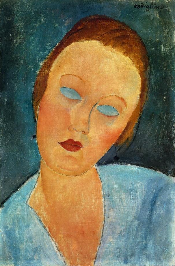 Portrait of Madame Survage - Amedeo Modigliani