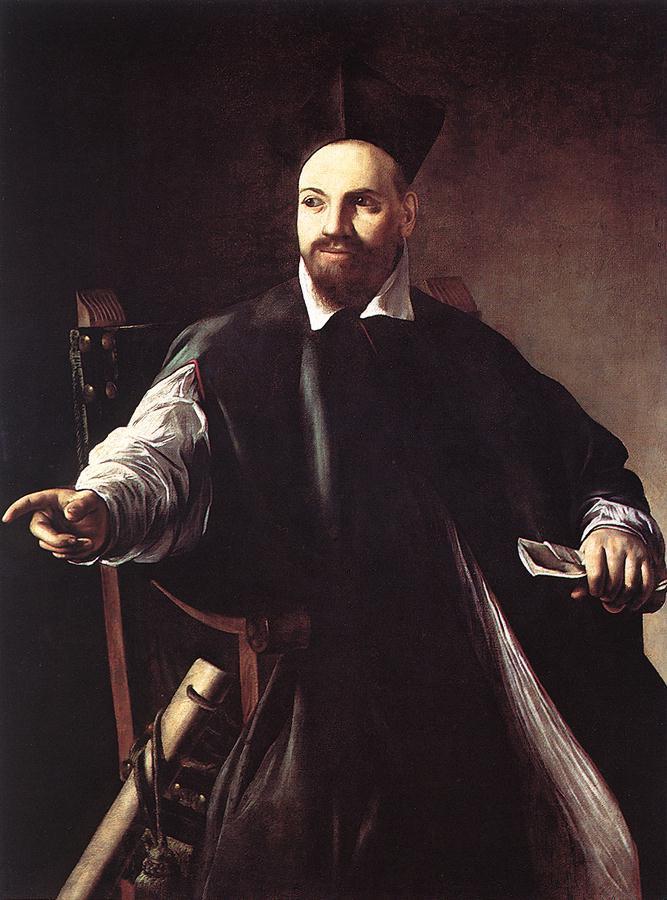 Portrait of Maffeo Barberini - Caravaggio