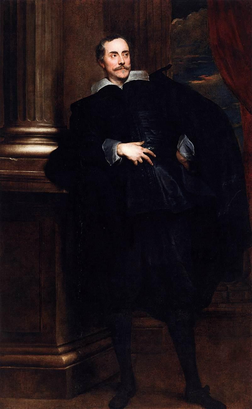 Portrait of Marcello Durazzo - Anthony van Dyck